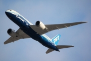 The Boeing 787 Dreamliner's first departure from Toronto Pearson CYYZ